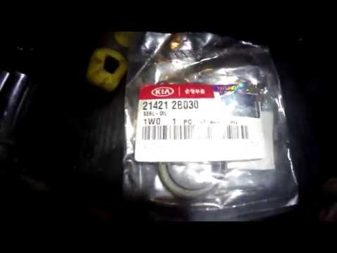 Kia cerato 2 1,6 передний сальник коленвала