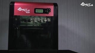 getlinkyoutube.com-da Vinci 1.0 Pro. - First-time Printing