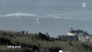 getlinkyoutube.com-Benjamin Sanchis et Nazaré : La vague de tous les records - #RidingZone
