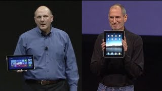 Surface vs. iPad: Microsoft's Getting Rusty Stealing from Apple