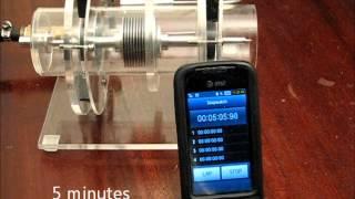 getlinkyoutube.com-Tesla Turbine with Magnetic Bearings