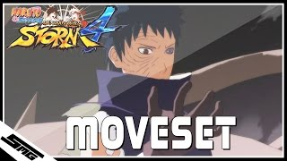 getlinkyoutube.com-Naruto Ultimate Ninja Storm 4 - Obito COMPLETE Moveset