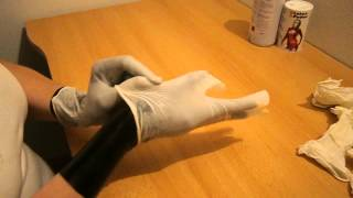 getlinkyoutube.com-Putting latex gloves layers 2