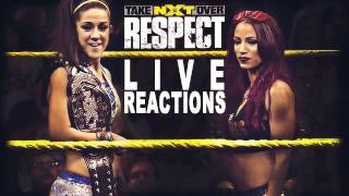 NXT Takeover: Respect :: LIVE REACTIONS :: Dana Brooke vs. Asuka