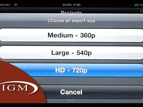 iMovie app for iPhone 4 (Review/Tutorial)
