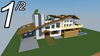 Download video minecraft tutoriel maison facile faire 1 2 - Comment faire une maison de luxe dans minecraft ...