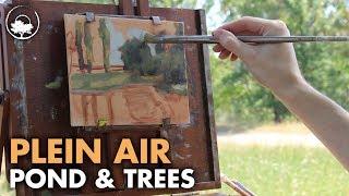 getlinkyoutube.com-The Quiet Morning - Plein Air Painting Adventure #07