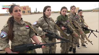 getlinkyoutube.com-Syrian Christian girls defend their town from Western backed islamist terrorists