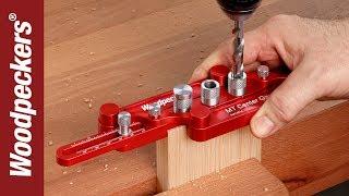 getlinkyoutube.com-Woodpeckers MT Doweling Jig (Retired OneTIME Tool®)