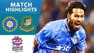 getlinkyoutube.com-ICC #WT20 India vs Bangladesh - Match Highlights