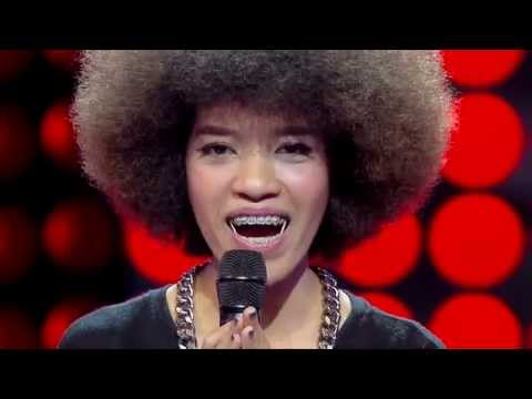 The Voice Thailand - แนท บัณฑิตา - I Can't Make You Love Me - 14 Sep 2014