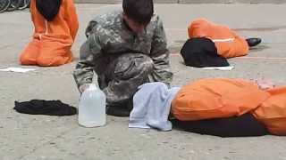 getlinkyoutube.com-Guantanamo Bay Protest Waterboarding