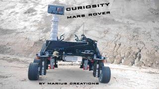 getlinkyoutube.com-Curiosity Mars Rover using LEGO MINDSTORMS EV3