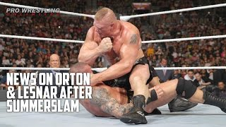 Backstage News On Orton & Lesnar After SummerSlam (Includes Graphic Photos)