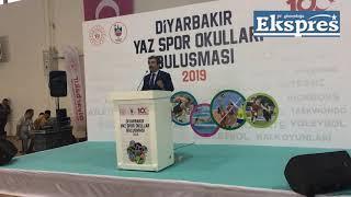 Diyarbakır Valisi Hasan Basri Güzeloğlu: 50 bin sporcu için çalışıyoruz