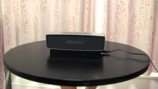getlinkyoutube.com-BOSE SoundLink Mini ボーズ・サウンドリンク・ミニ その2 設定とサウンドレビュー Sound reviews and setting