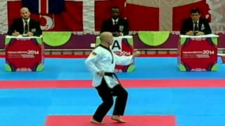 getlinkyoutube.com-2014 WTF World Poomsae Championships - Day  2-  Court A  Afternoon Session