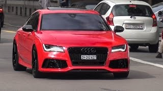 Extrem LOUD Audi RS7 w/ Straight Pipes Milltek Exhaust - Brutal Sounds!