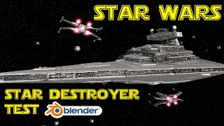 getlinkyoutube.com-Star Wars Blender Animation - Star Destroyer Test (Scene 24 a, b)