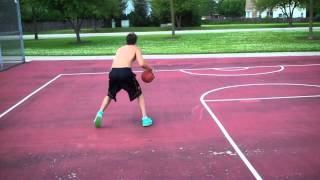 Full Court Continuous Between the Legs Dribble