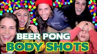 getlinkyoutube.com-BODY SHOT BEER PONG