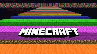 getlinkyoutube.com-Minecraft ULTIMATE RAINBOW ROAD PARKOUR with Vikkstar & Lachlan (Minecraft Parkour)