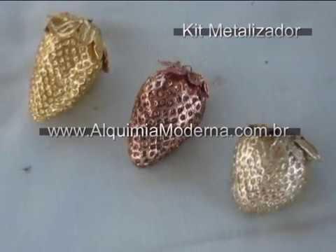 Metalização Galvânica - Alquimia Moderna by Cardinale