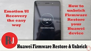 getlinkyoutube.com-How to Unbrick Firmware Restore your Huawei Device running EMUI P8 Lite