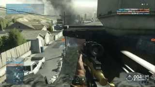 getlinkyoutube.com-Battlefield Hardline GOLD .300 Knockout Sniper Game play