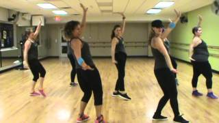 getlinkyoutube.com-Rabiosa by Shakira #dancefitness #zumba