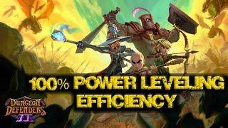 getlinkyoutube.com-Dungeon Defenders II - 100% Power Leveling Efficiency - Guide