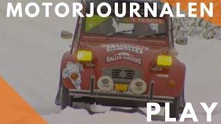 getlinkyoutube.com-Motorjournalen Citroën 2CV at the Swedish Rally 2004