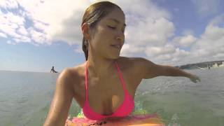 getlinkyoutube.com-【GOPRO】SEXYビキニでサーフィン2☆