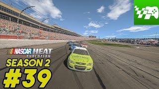 getlinkyoutube.com-Super Save Mode Engaged - NASCAR Heat Evolution Career Mode S2 Ep. 39