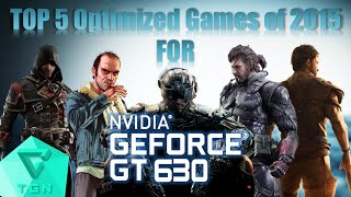 getlinkyoutube.com-TOP 5 Optimized Games of 2015 for Nvidia GT630 2GB DDR3