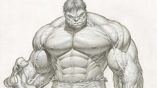 getlinkyoutube.com-Como desenhar Hulk (versão fácil)