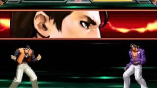 getlinkyoutube.com-Exibicion de Especiales de KOF WING MUGEN Parte 1