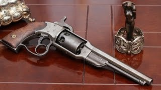Shooting the Civil War Savage Navy percussion revolver