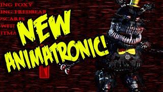 "getlinkyoutube.com-Five Nights at Freddy's 4: NEW ANIMATRONIC! ""NIGHTMARE"" And ALL ANIMATRONICS! | FNAF 4 SECRET"