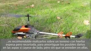 getlinkyoutube.com-[ Consejos ] Primer vuelo Helicóptero R/C ( Volitation 9053 )