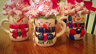 getlinkyoutube.com-Peppermint Bouquet!!! Christmas Gifts on a BuDgEt!!!!! :)