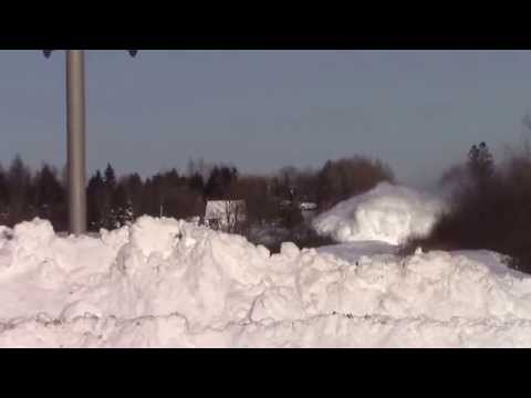 EPIC CATCH!!! Dashing Thru the Snow West at Salisbury, NB Feb 3, 2015