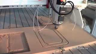 getlinkyoutube.com-Row type ATC cnc router,semi-manufactured, China cnc router