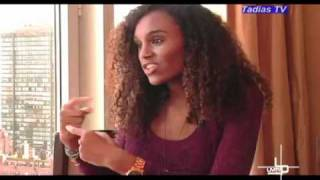 getlinkyoutube.com-Interview with Ethiopian Model   Social Activist Gelila Bekele Video by Tadias Megazine