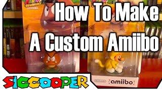 getlinkyoutube.com-Tutorial: How To Make A Custom Amiibo | SicCooper