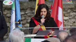 -CAROUGE - Inaugurazione monumento in riconoscenza all'emigrazione italiana