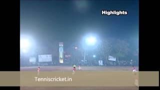 tennis ball cricket match najeeb mulla tournament