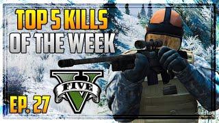 getlinkyoutube.com-Top 5 Kills of the Week in GTA 5! (Episode #27) [GTA V Funny & Awesome Kills]