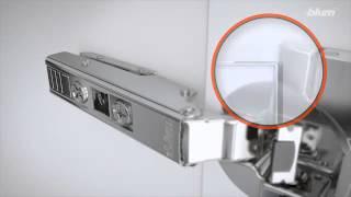 getlinkyoutube.com-Blum ClipTop Inserta Hinge - Installation & Adjustment