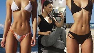 getlinkyoutube.com-Megumi Kimura (megkae): Japanese Beauty/Fitness Model Gym Workout Routines